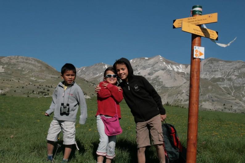 Location de vacances - Chalet à Veynes - des randonnées accessibles pour tous les âges !