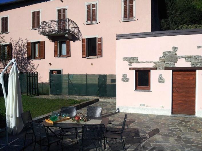 """Location de vacances - Maison - Villa à Cremia - Jardin """"Casa Alice"""""""