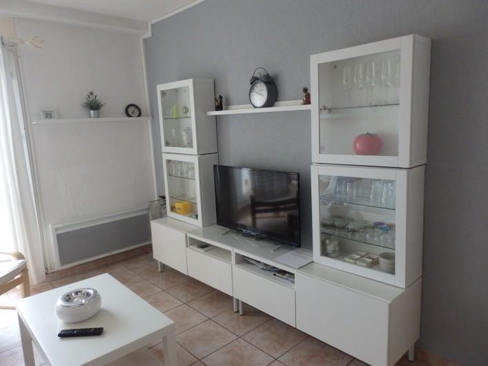 Location de vacances - Appartement à Gruissan - Séjour