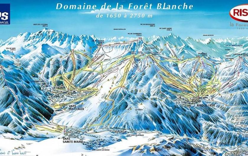 Location de vacances - Appartement à Risoul - Domaine skiable