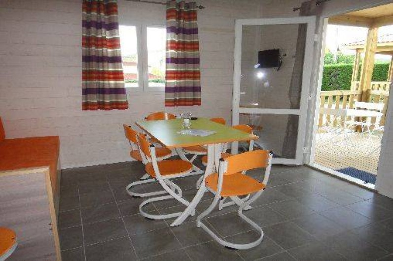 Location de vacances - Gîte à Ruoms - séjour Merlot 6/8p