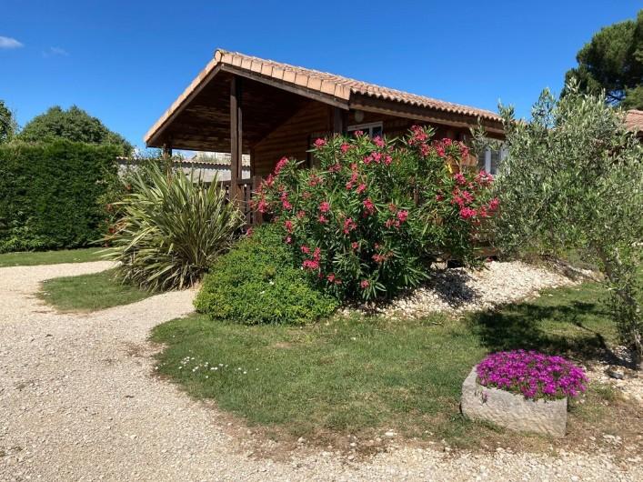 Location de vacances - Gîte à Ruoms - chalet Viognier 36m²