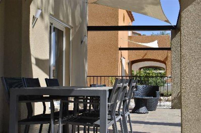 Location de vacances - Appartement à Argelès-sur-Mer - terrasse ré de chaussée