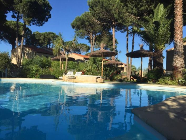 Location de vacances - Appartement à Argelès-sur-Mer - piscine