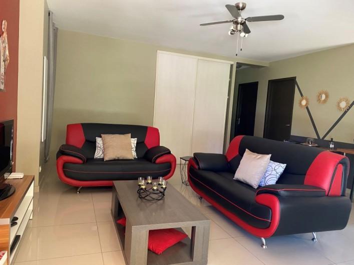 Location de vacances - Appartement à Argelès-sur-Mer - LE SALON