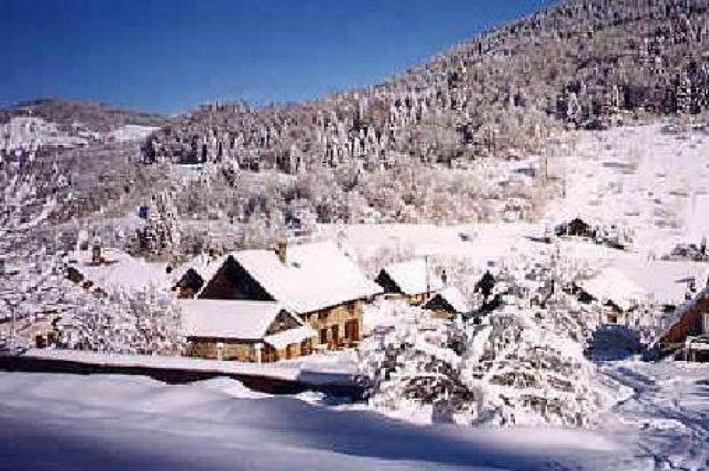 Location de vacances - Gîte à Grenoble - ambiance hivernale