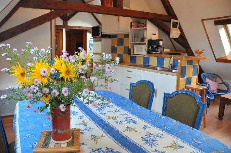Location de vacances - Gîte à Grenoble - cuisine américaine