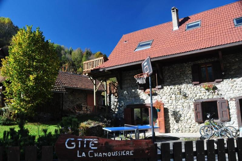 Location de vacances - Gîte à Grenoble - ancienne ferme du XVIII