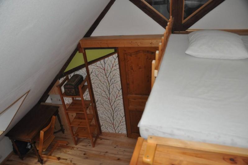 Location de vacances - Gîte à Grenoble - couchage d'appoint en mezzanine