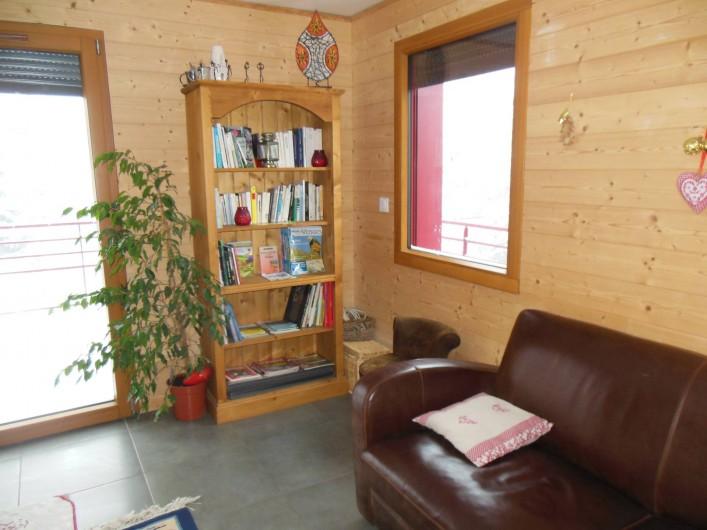 Location de vacances - Chalet à Le Tholy - Coin salon