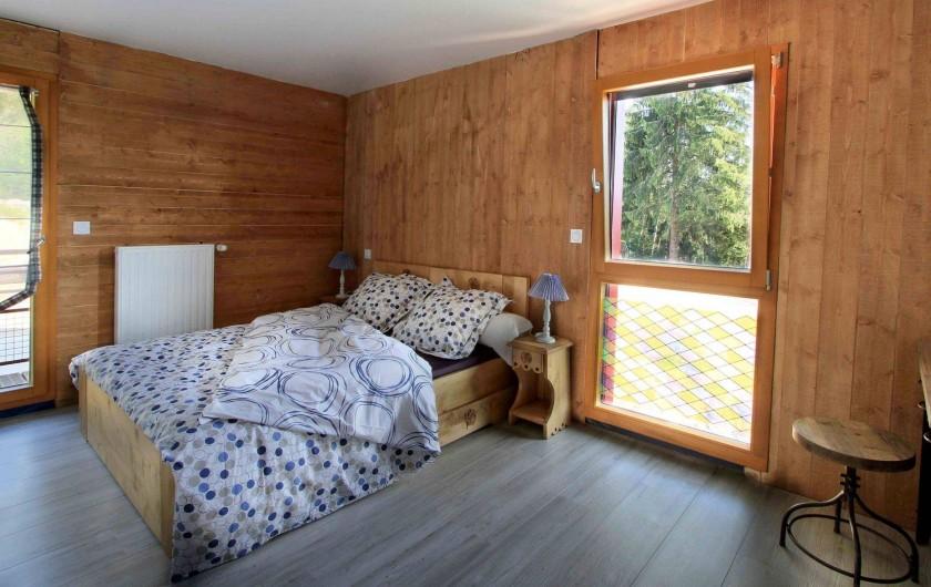 Location de vacances - Chalet à Le Tholy - Chambre Myrtilles