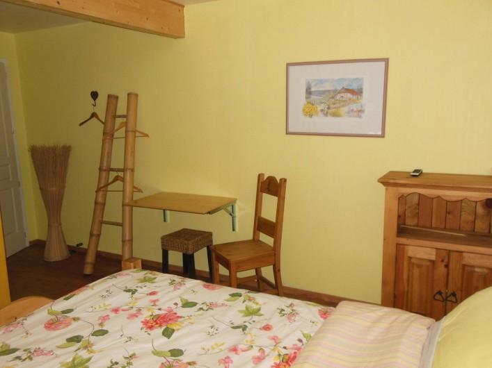 Location de vacances - Chalet à Le Tholy - Chambre Jonquille