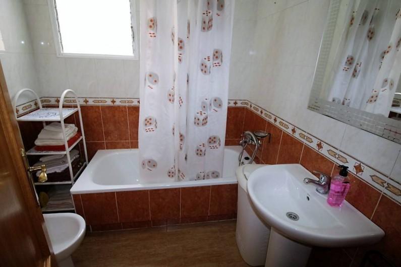 Location de vacances - Chalet à Alicante - Salle de bain