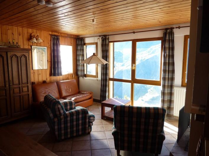 Location de vacances - Appartement à La Grave - Salon