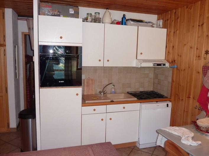 Location de vacances - Appartement à La Grave - Cuisine