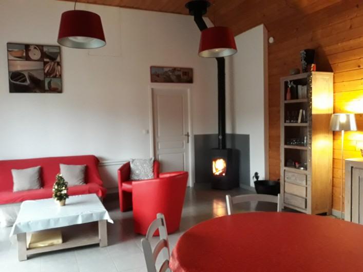Location de vacances - Gîte à Brélès - Le coin salon.