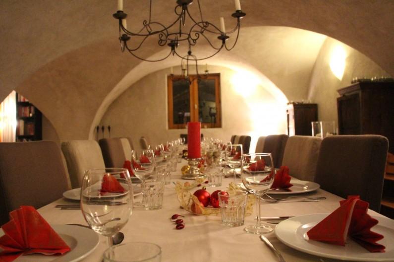 Location de vacances - Chalet à Vaujany - Dining