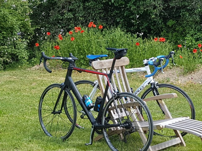 Location de vacances - Chalet à Vaujany - Cycling paradise