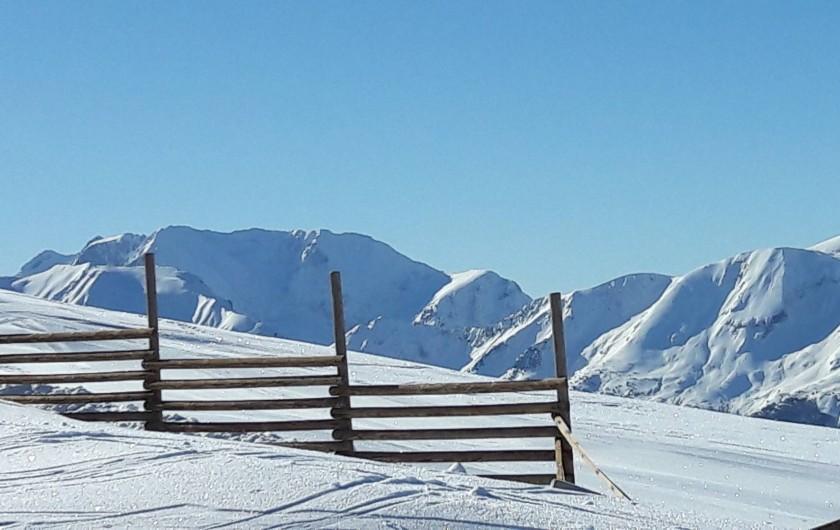 Location de vacances - Chalet à Vaujany - Winter in the Alpes