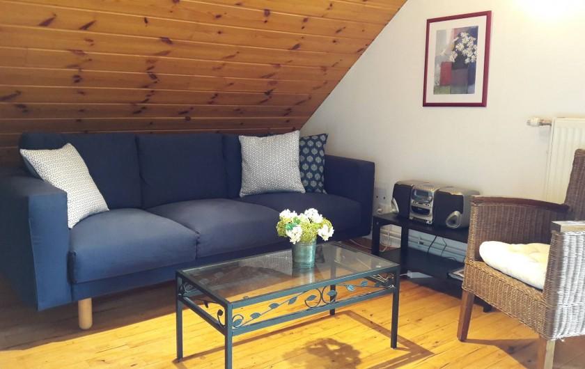 Location de vacances - Chalet à Vaujany - Appartement salon