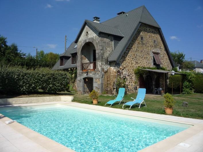 Location de vacances - Chambre d'hôtes à Saint-Martin-Cantalès - La Maison de Chablat
