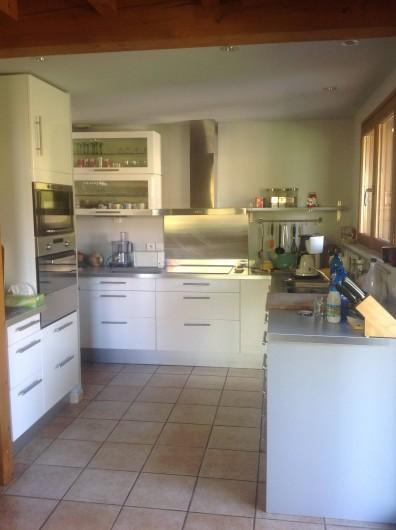 Location de vacances - Chalet à Theys - cuisine