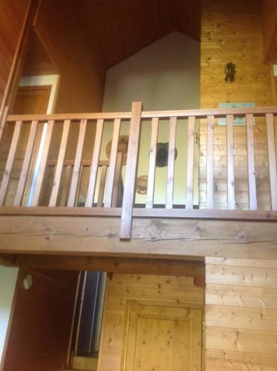 Location de vacances - Chalet à Theys - vue étage