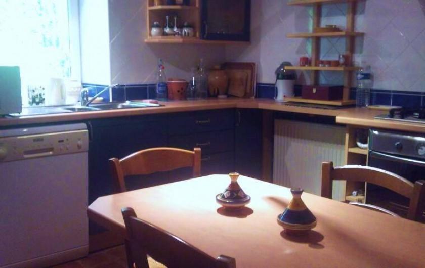 Location de vacances - Gîte à Francillon-sur-Roubion - La vue de chez nous!