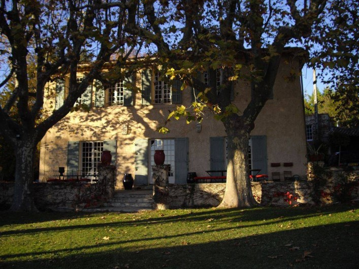 Location de vacances - Villa à Aix-en-Provence - Bastide de 1850 et ses 400 m2 .