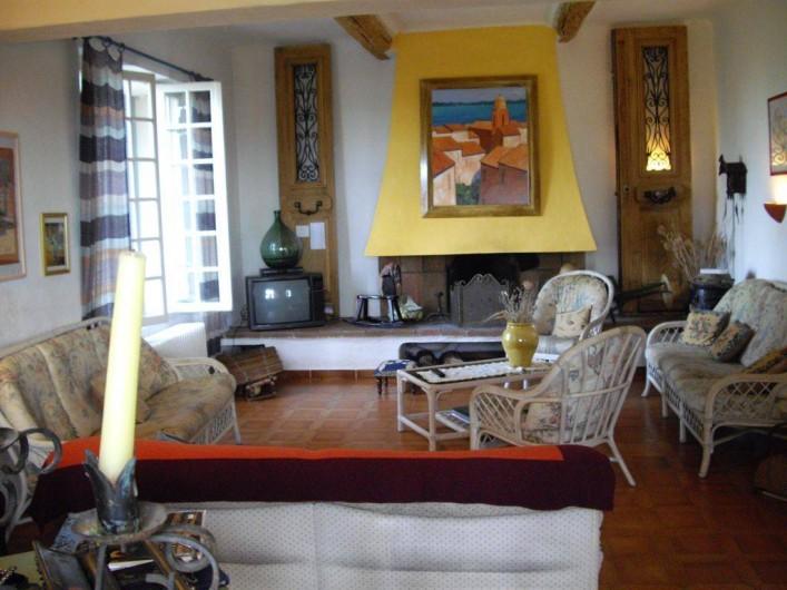 Location de vacances - Villa à Aix-en-Provence - Salon