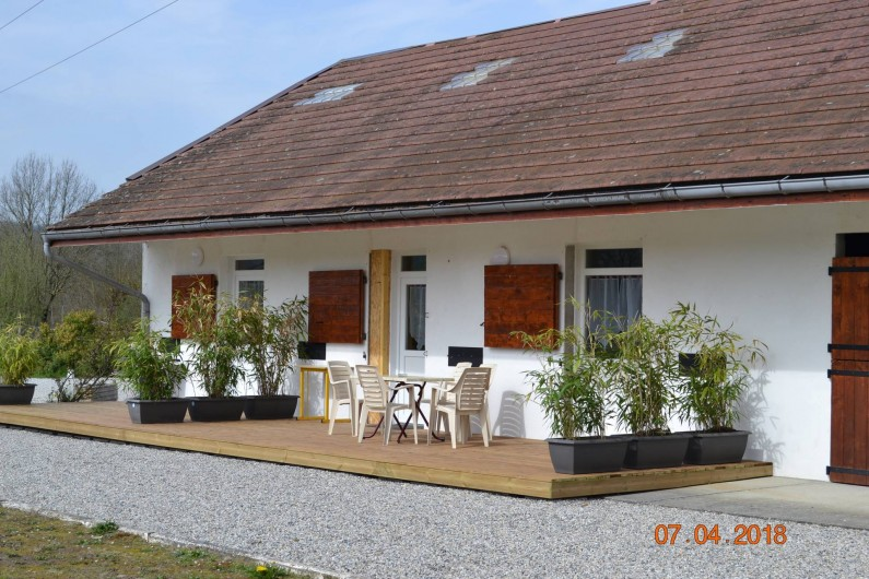 Location de vacances - Appartement à Domessin