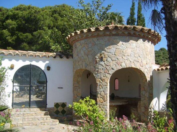 """Location de vacances - Appartement à Llançà - jardin """"patio"""""""