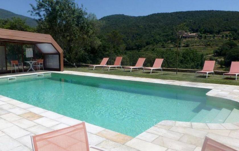 Location de vacances - Gîte à La Garrotxa - Piscine partagée