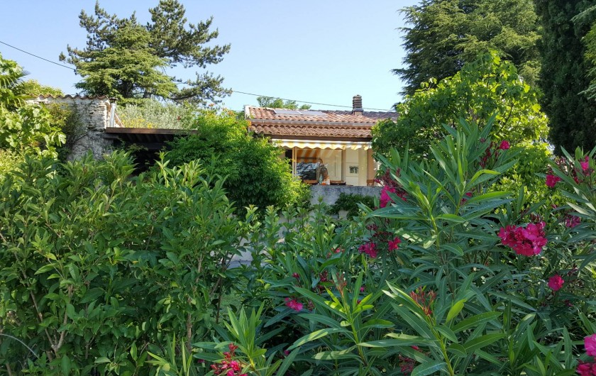 Location de vacances - Villa à Forcalquier - La villa vue du jardin