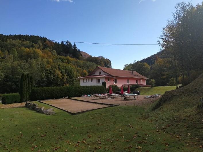 Location de vacances - Gîte à Bussang - terrain