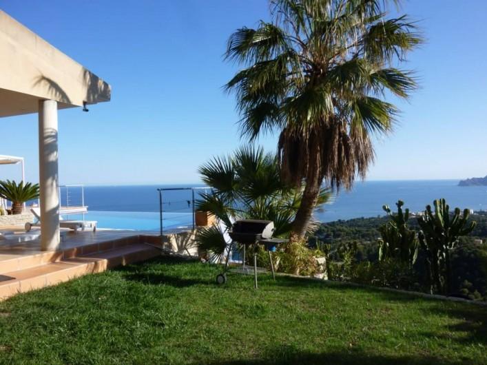 Location de vacances - Villa à Altea - partie jardin