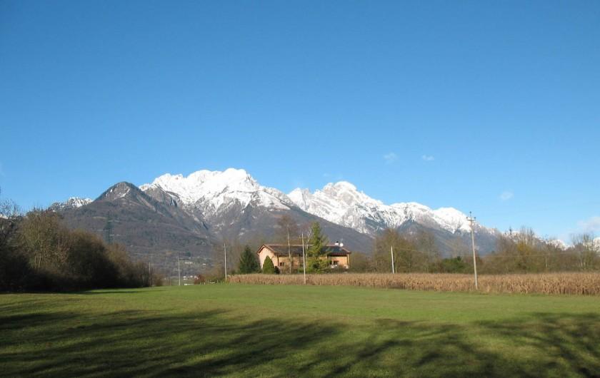 Location de vacances - Chambre d'hôtes à Cesiomaggiore - panoramica vista nord