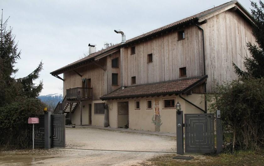 Location de vacances - Chambre d'hôtes à Cesiomaggiore - ingresso lato nord