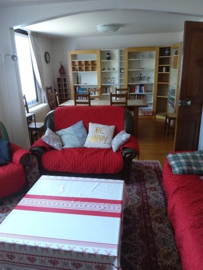 Location de vacances - Gîte à Bussang - Grand Appartement - Salon+Salle a manger