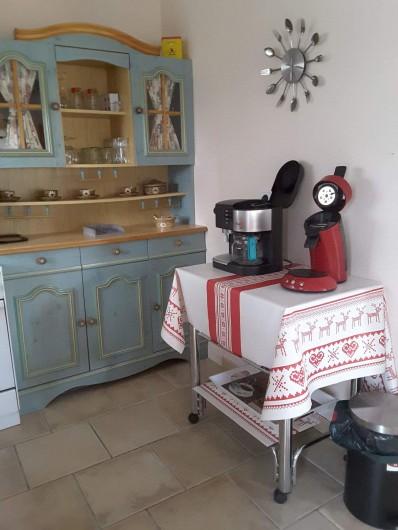 Location de vacances - Gîte à Bussang - Petit Appartement - Cuisine
