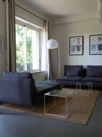 Location de vacances - Mas à Carcassonne - Salle de sejour.