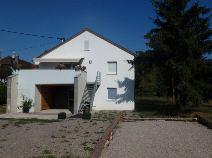 Location de vacances - Gîte à Ranspach - Vue extérieur