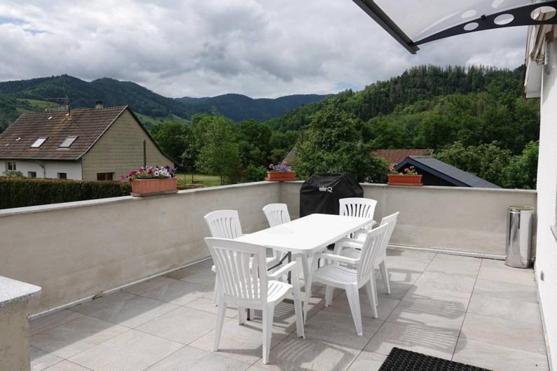 Location de vacances - Gîte à Ranspach - Terrasse