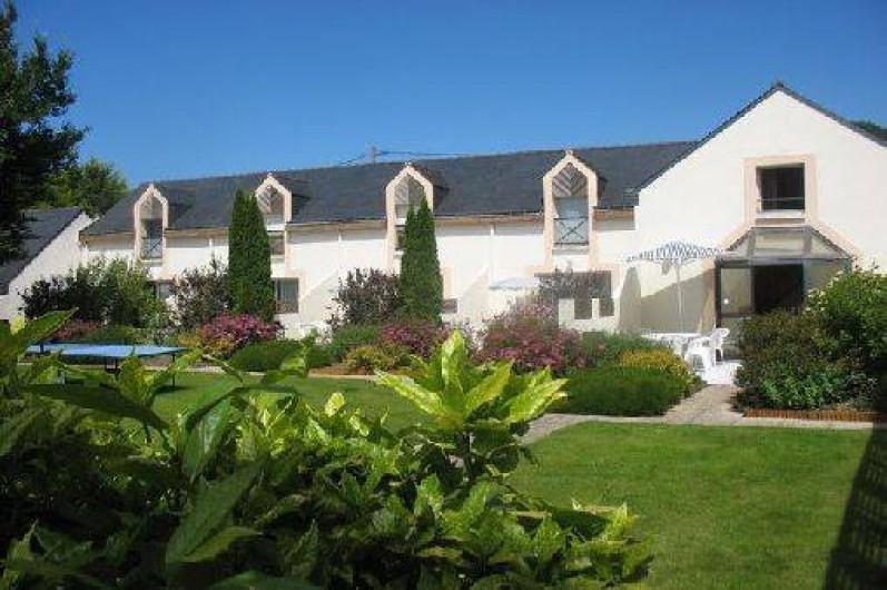 Location de vacances - Gîte à Clohars-Carnoët - Vue générale des gites