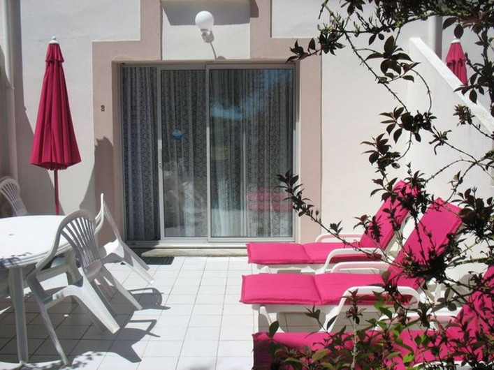 Location de vacances - Gîte à Clohars-Carnoët - Terrasse du gîtes