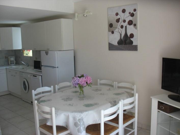 Location de vacances - Gîte à Clohars-Carnoët - Coin cuisine et repas gîtes N°5  7/9pers