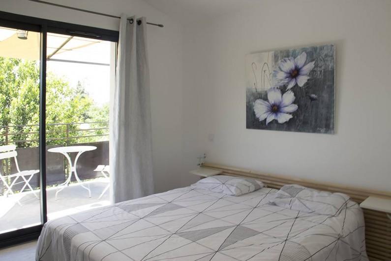 Location de vacances - Gîte à Robion - Chambre : draps fournis