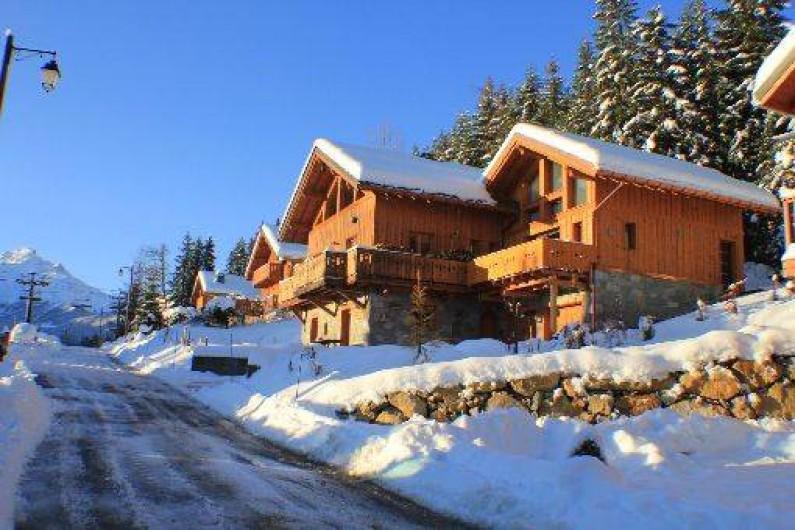 Location de vacances - Chalet à Valmorel - CHALET EXTERIEUR