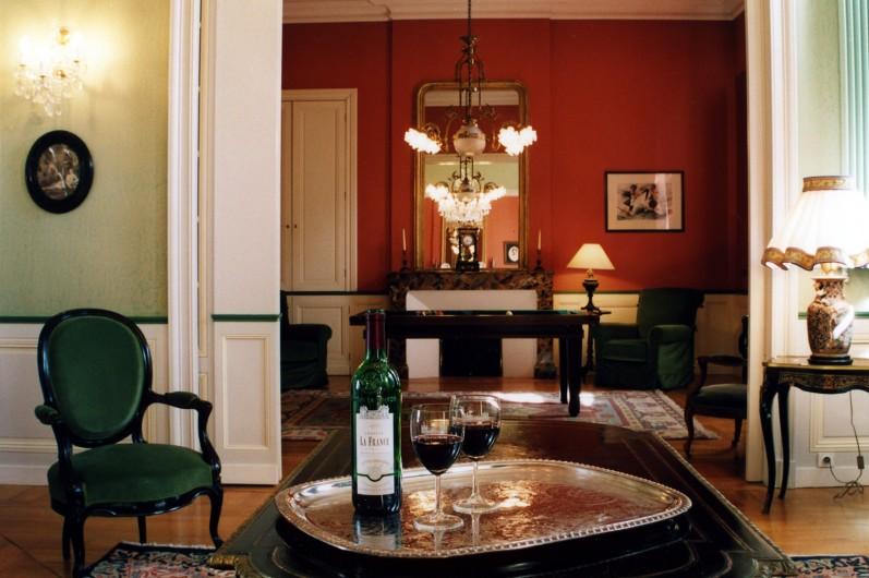 Location de vacances - Château - Manoir à Beychac-et-Caillau - Petit salon