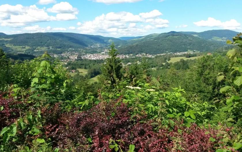 Location de vacances - Chalet à Le Menil - Vue sur le village